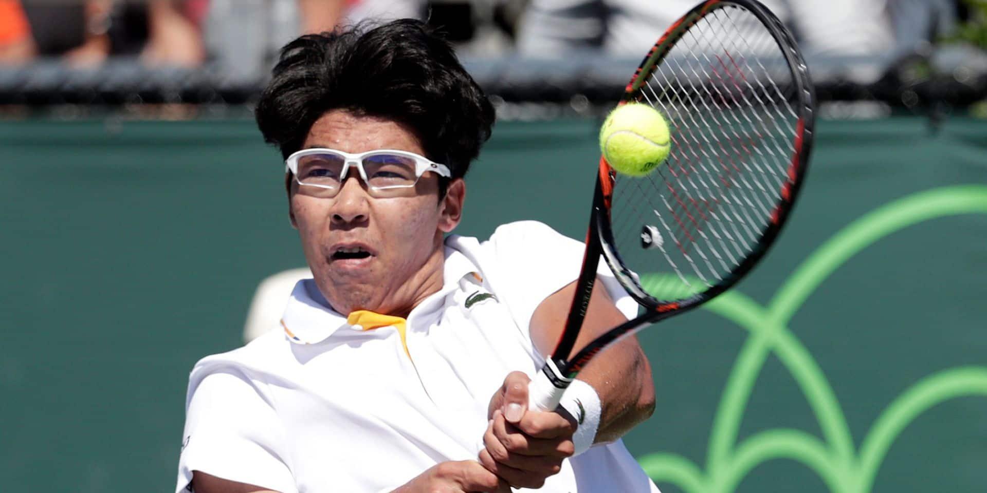 Goffin retrouve un jeune talent fragile en quart à Tokyo