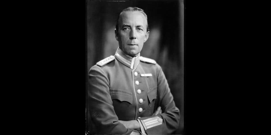 Le comte Folke Bernadotte, médiateur de l'ONU abbatu par des terroristes en 1948