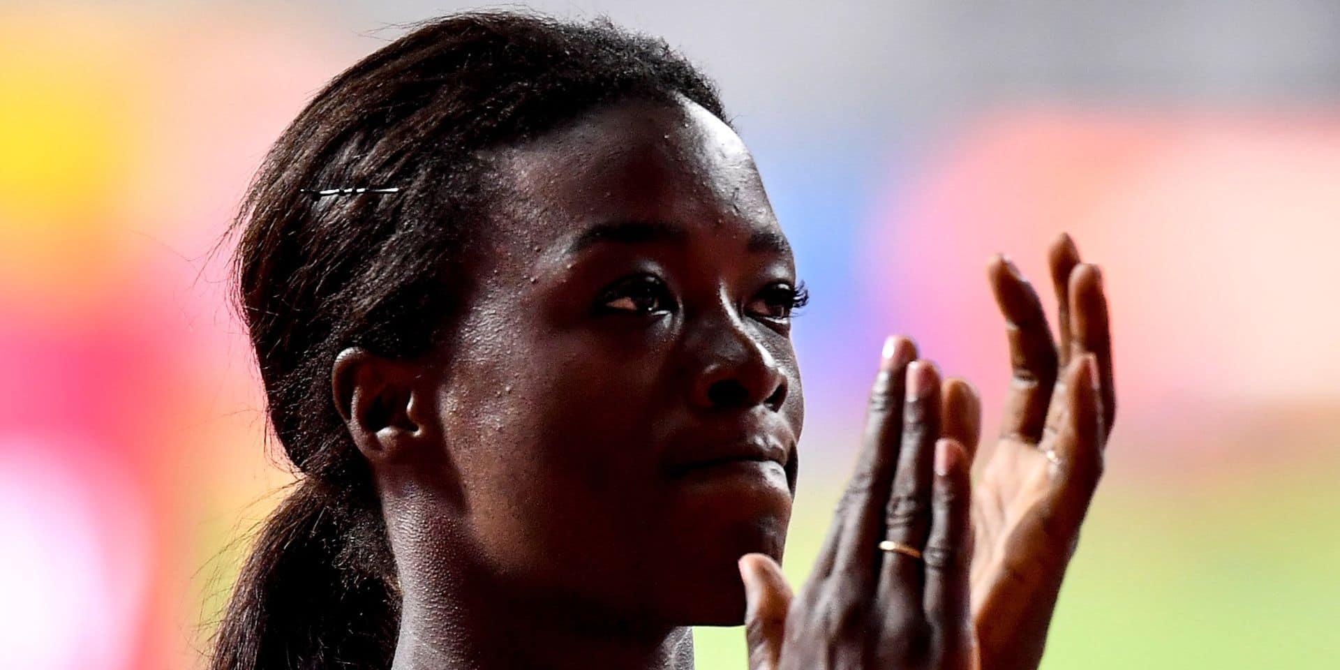 """Anne Zagré en demi-finale du 100m haies: """"Vivre le moment présent"""""""