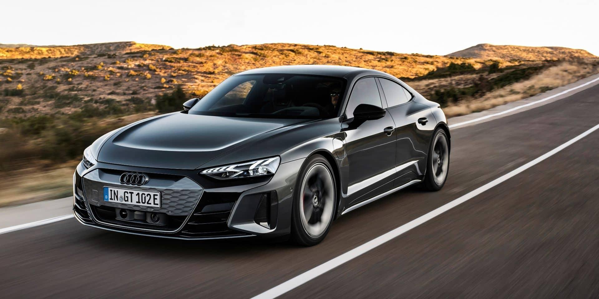 """Audi e-tron GT : voici enfin la """"Tesla"""" d'Audi !"""