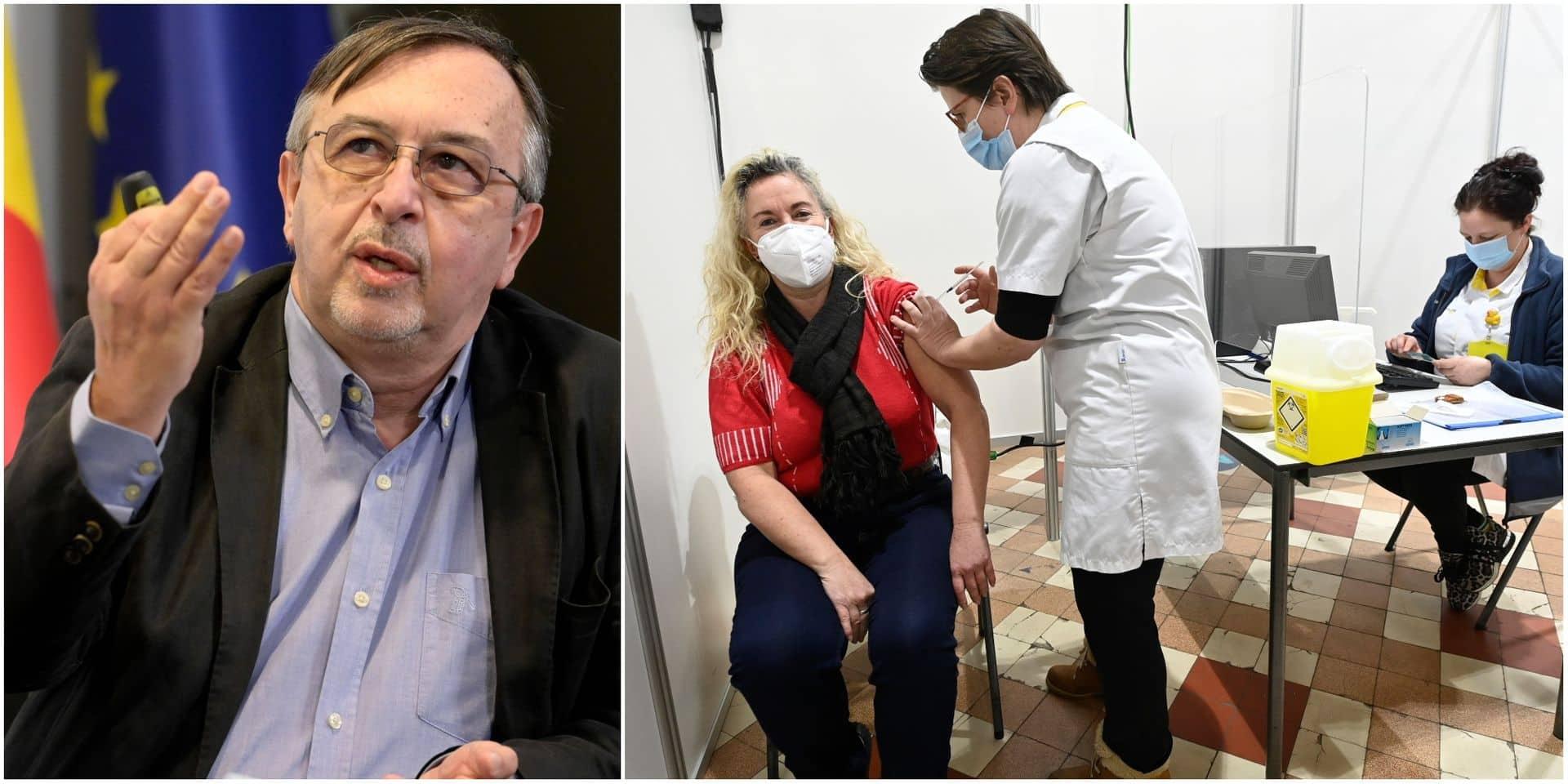 """Yves Van Laethem pas inquiet par les annonces sur AstraZeneca: """"Un impact modéré sur le rythme de la vaccination en Belgique"""""""