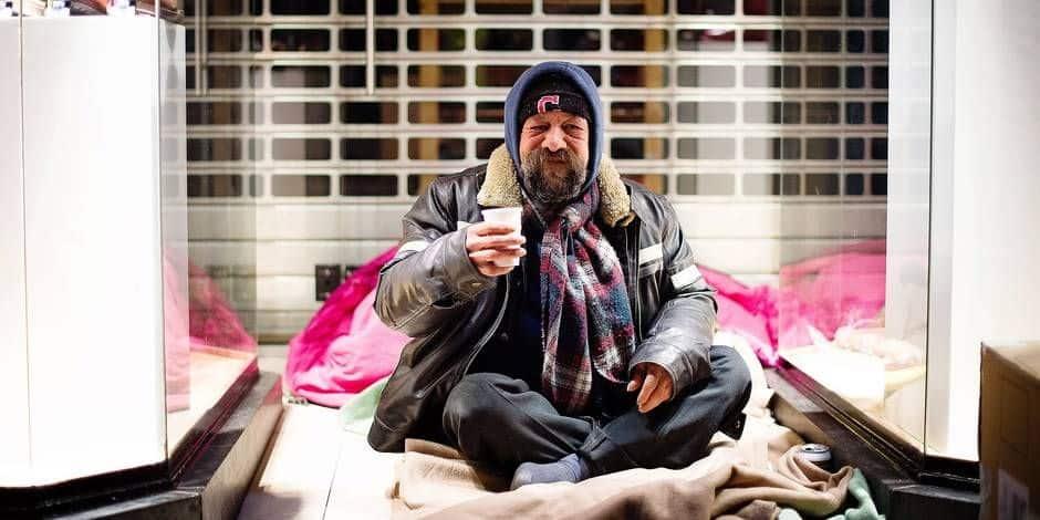 60% des sans-abris à Bruxelles sont dans la rue depuis plus d'un an