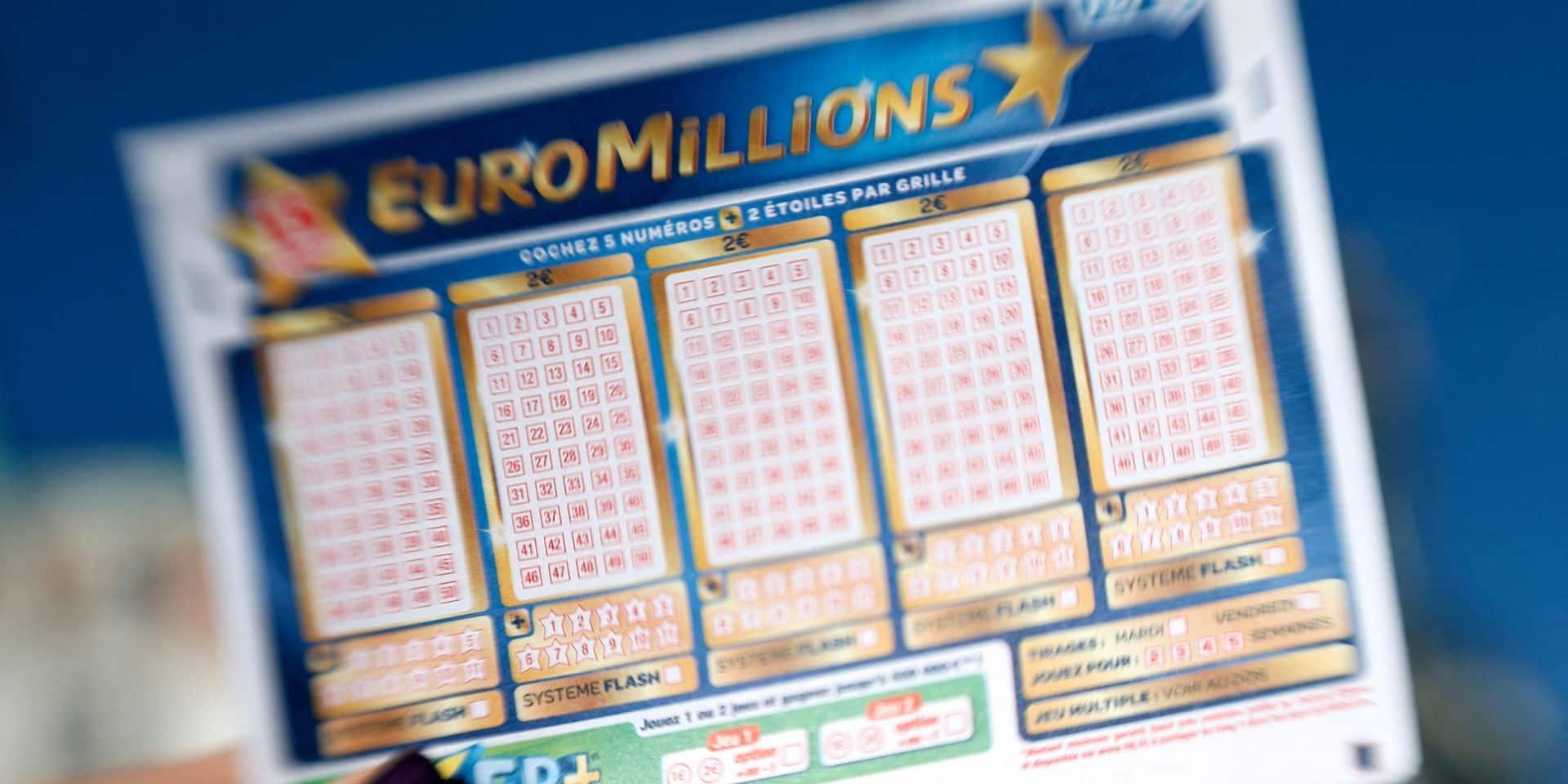 EuroMillions: pas de gagnant pour le jackpot historique de 210 millions ce mardi, mais 6 joueurs décrochent néanmoins une belle somme