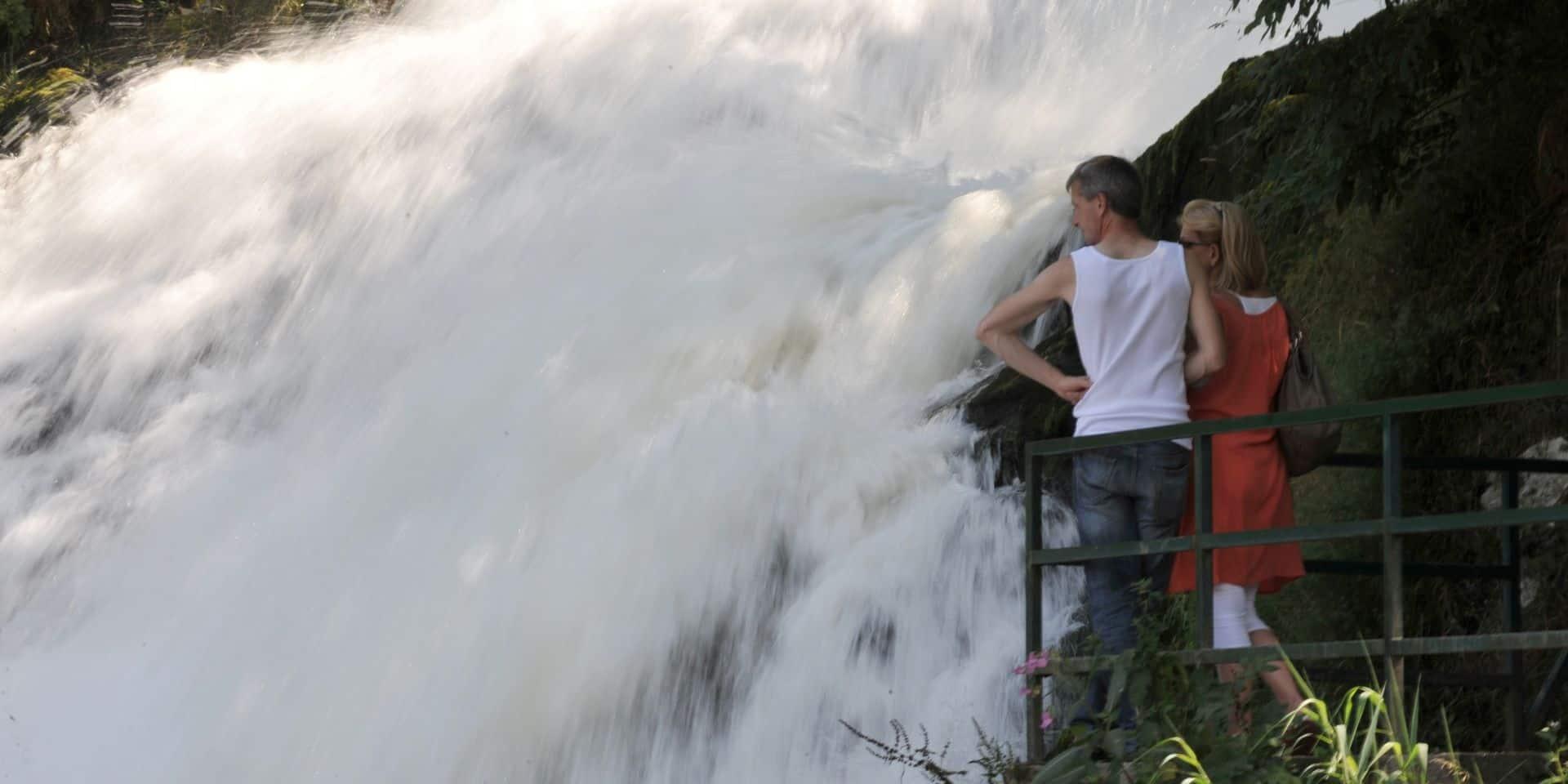 Stavelot-Coo : une petite fille fait une chute de 3 mètres de haut !
