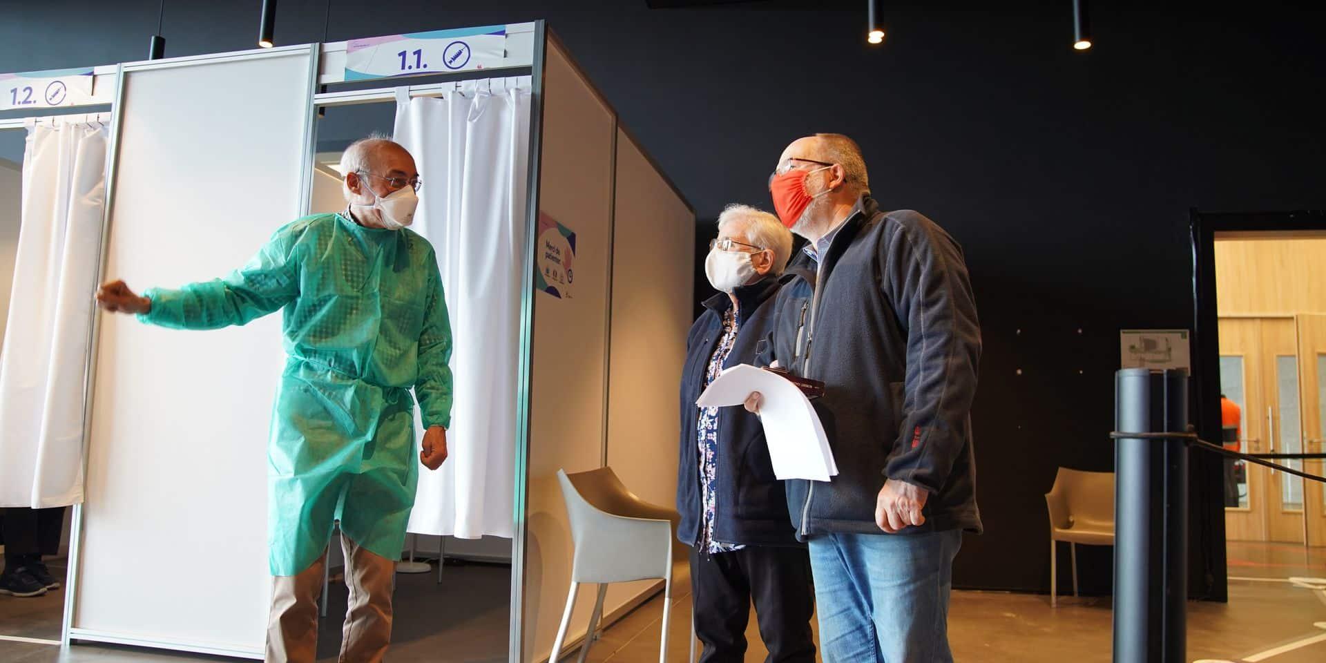 Wavre: le centre de vaccination de La Sucrerie déménage place Bosch