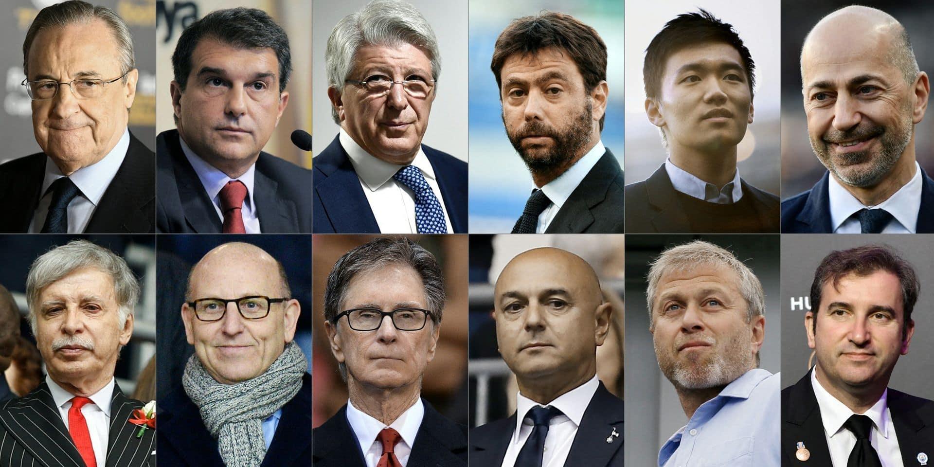 Super Ligue: un fiasco et deux perdants, Pérez et Agnelli