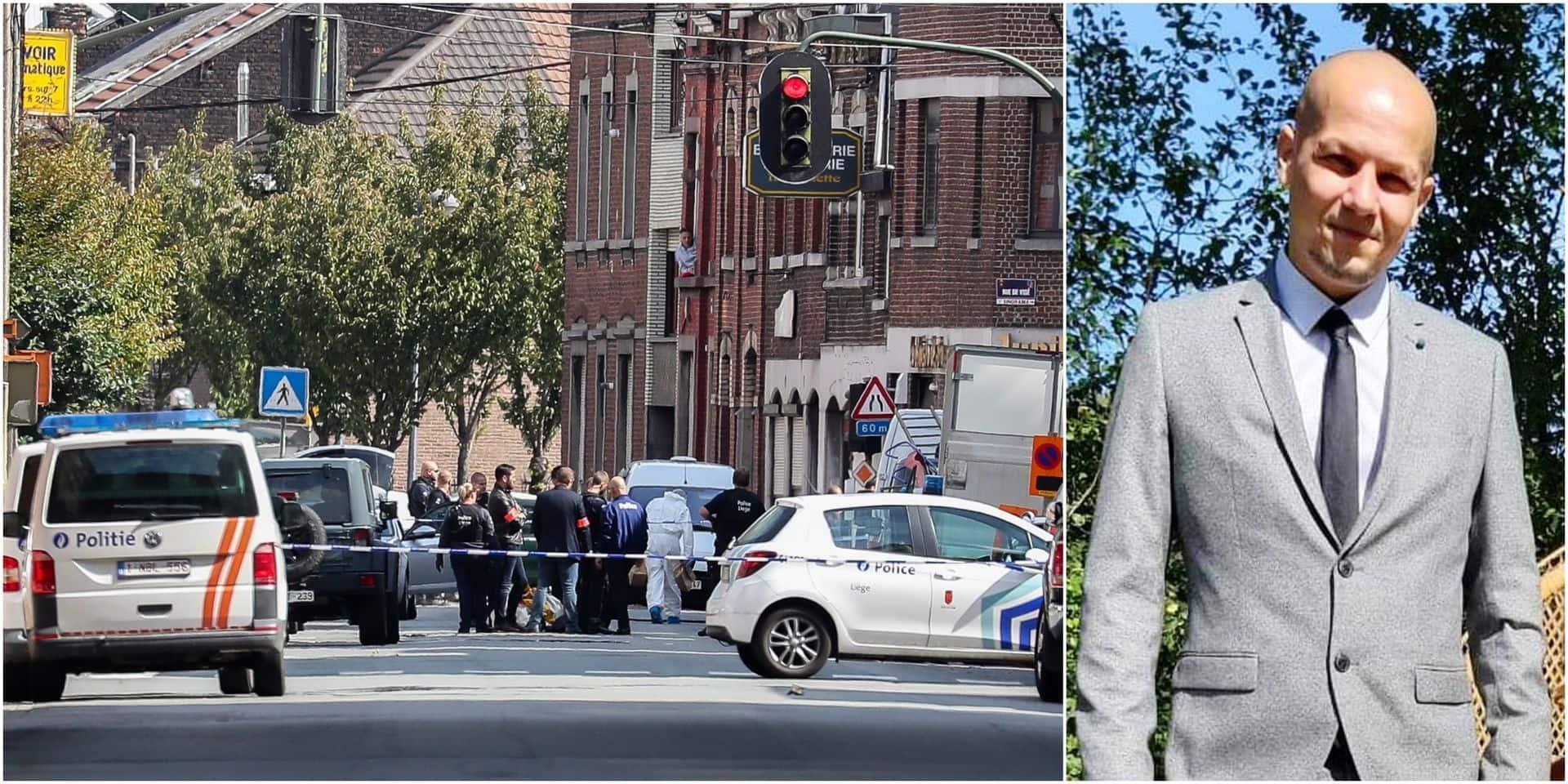 L'état de Maxime Pans, le policier touché par balle, évolue de manière positive: il a repris du poids et parle de mieux en mieux!