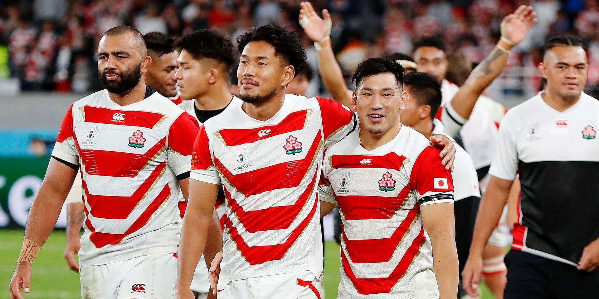 Mondial de rugby: le chagrin des Bleus, la fierté du Japon