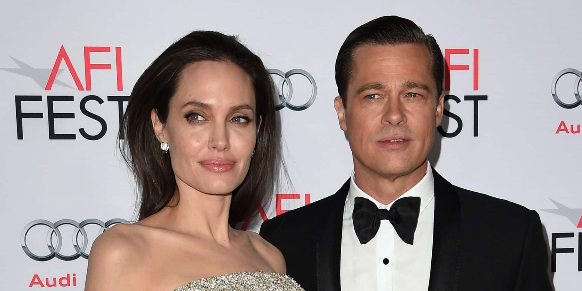"""Brad Pitt recasé : les tensions s'""""accentuent"""" avec Angelia Jolie"""