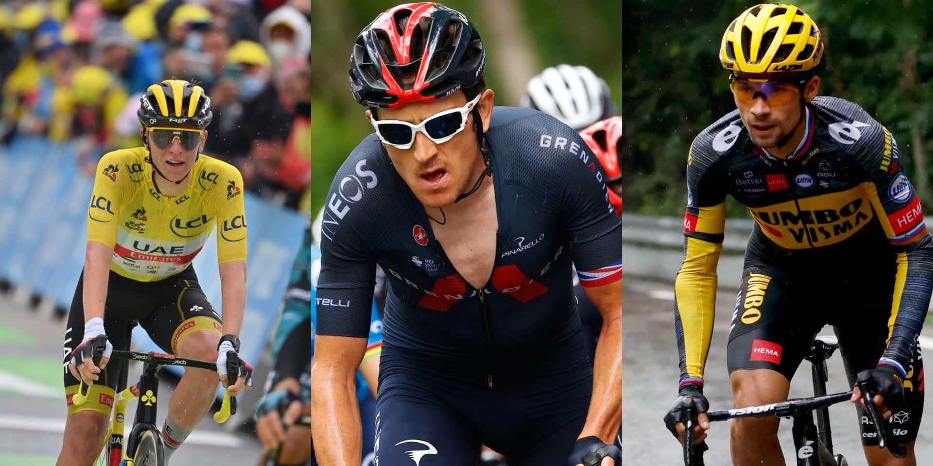 Tour de France: dix jours après, où en sont les favoris du Grand Départ ?