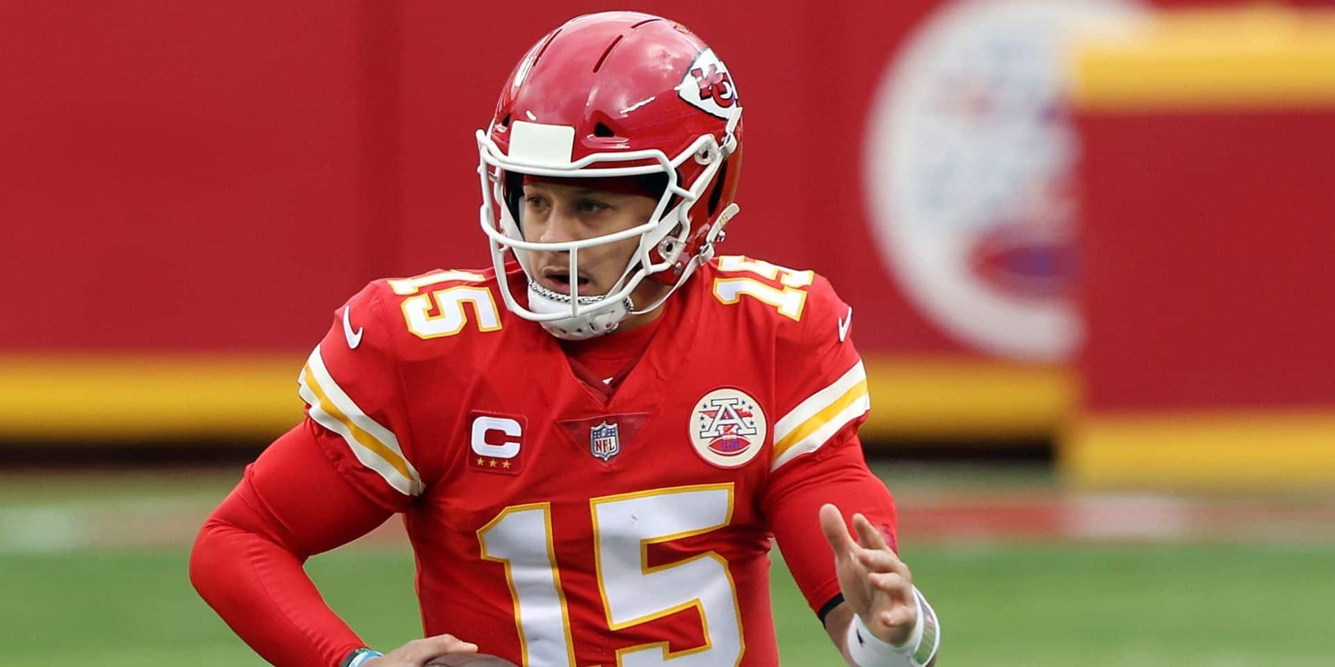 NFL: la prudence est de mise pour Mahomes, la superstar des Chiefs