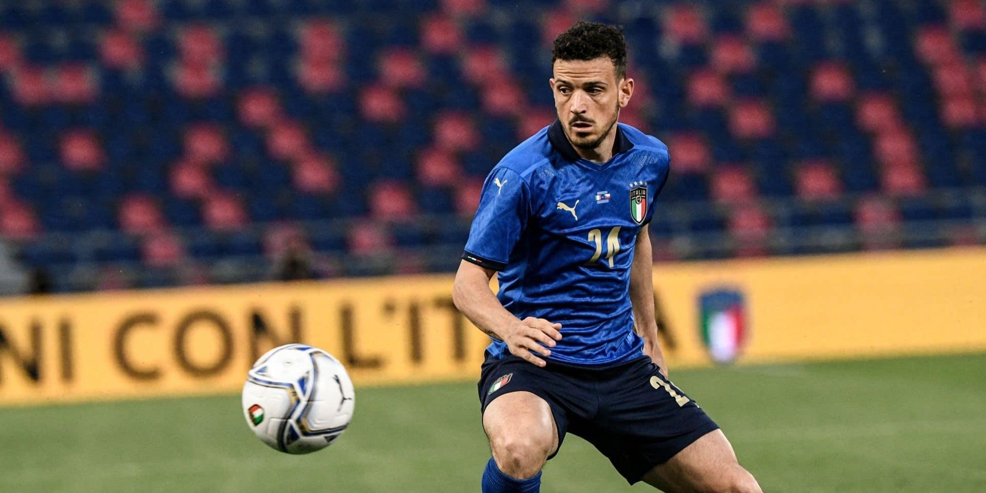 Alessandro Florenzi a repris les entraînements de groupe, le groupe italien désormais au complet