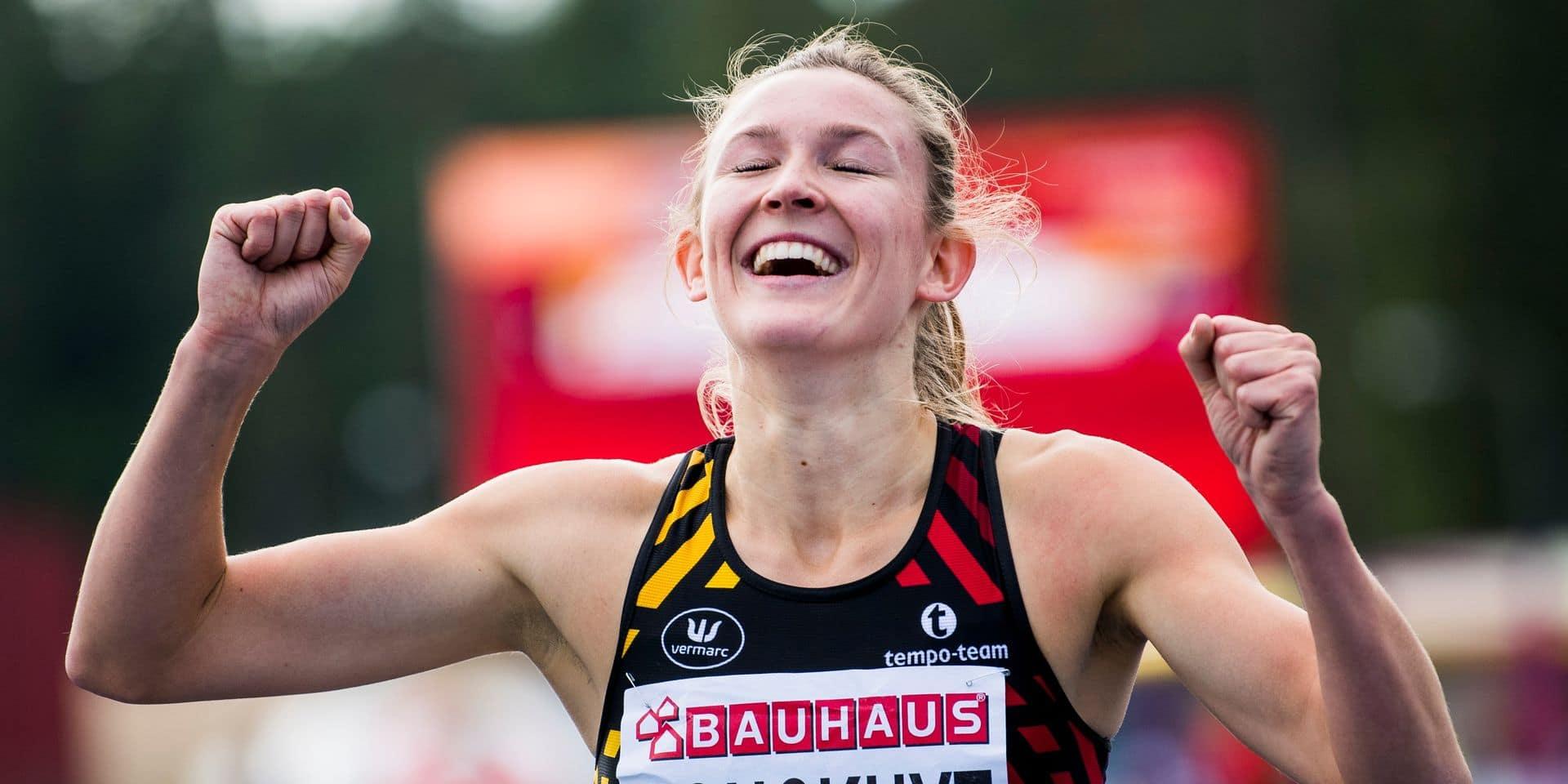 Euro espoirs : médaille d'or et record personnel pour Paulien Couckuyt sur 400 m haies