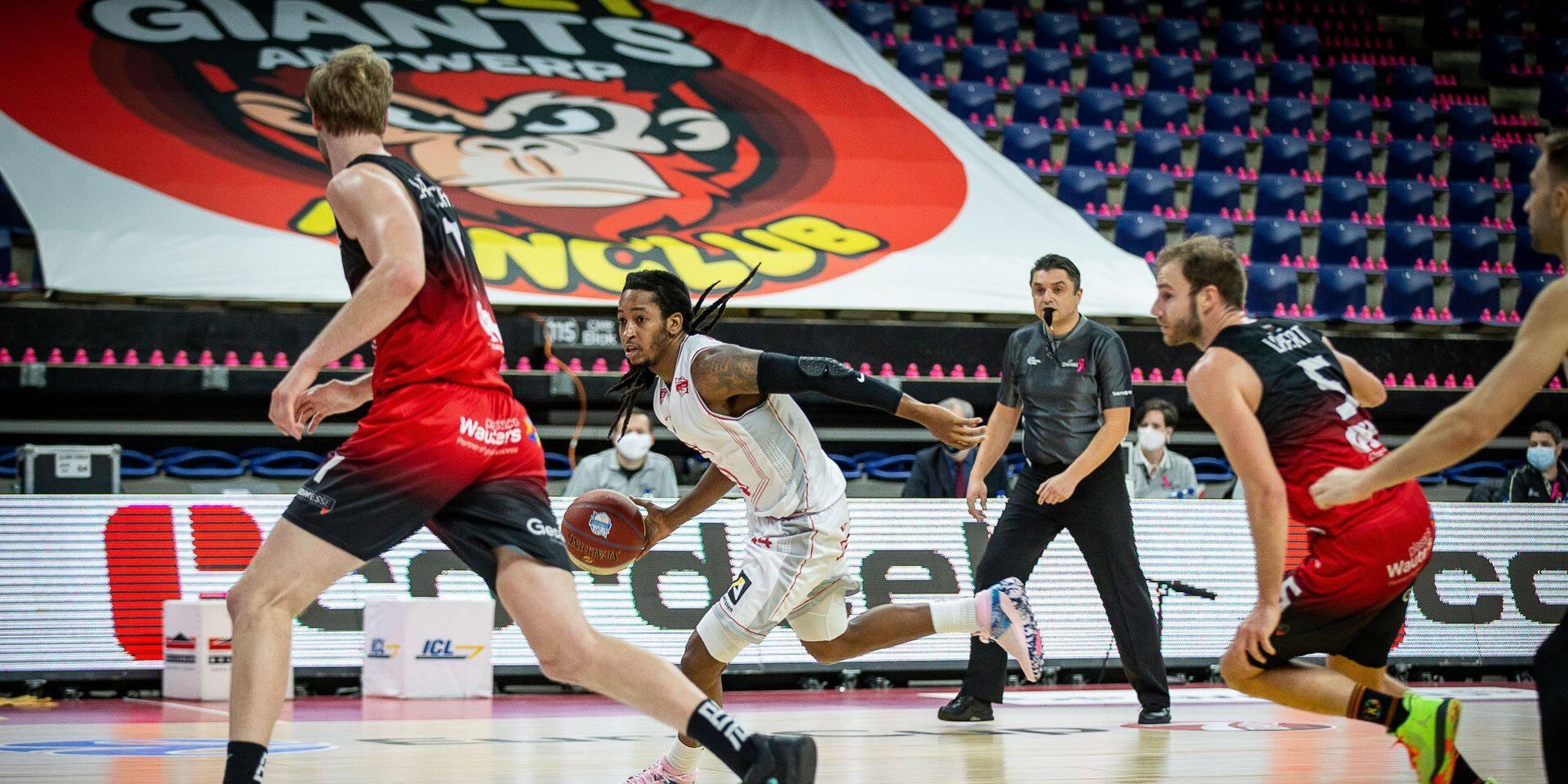 Euromillions Basket League: Anvers se fait peur mais s'impose face à Charleroi