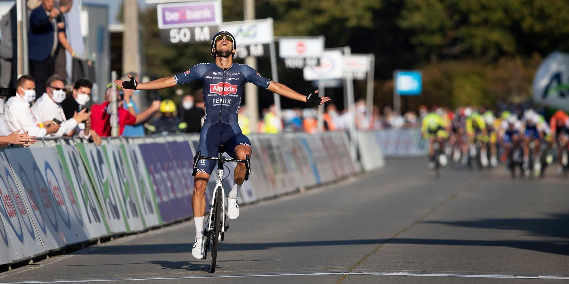 Dries De Bondt devient champion de Belgique sur route et succède à Tim Merlier