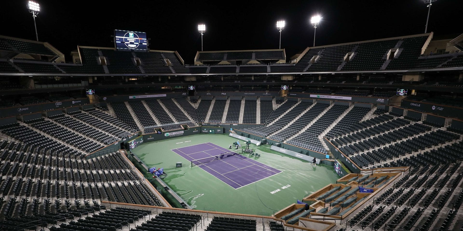 BNP Paribas Open Cancelled Due To Concern Over Coronavirus