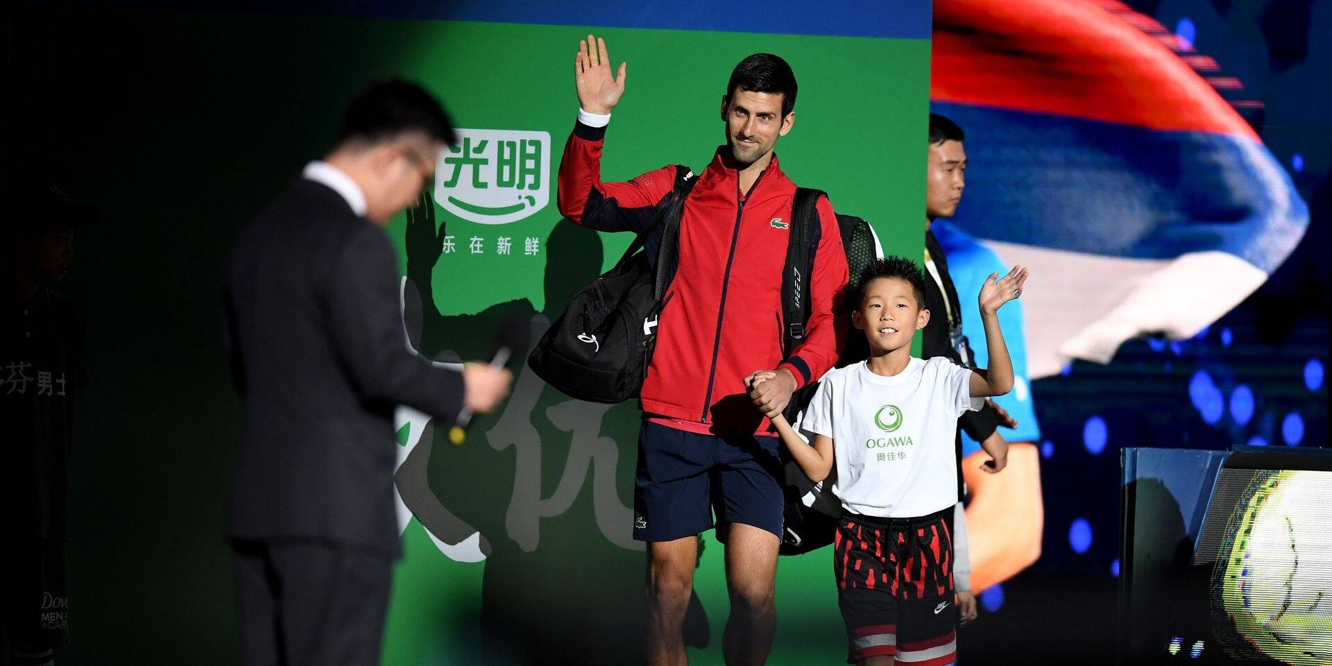 Masters 1000 de Shanghai: Djokovic continue d'impressionner