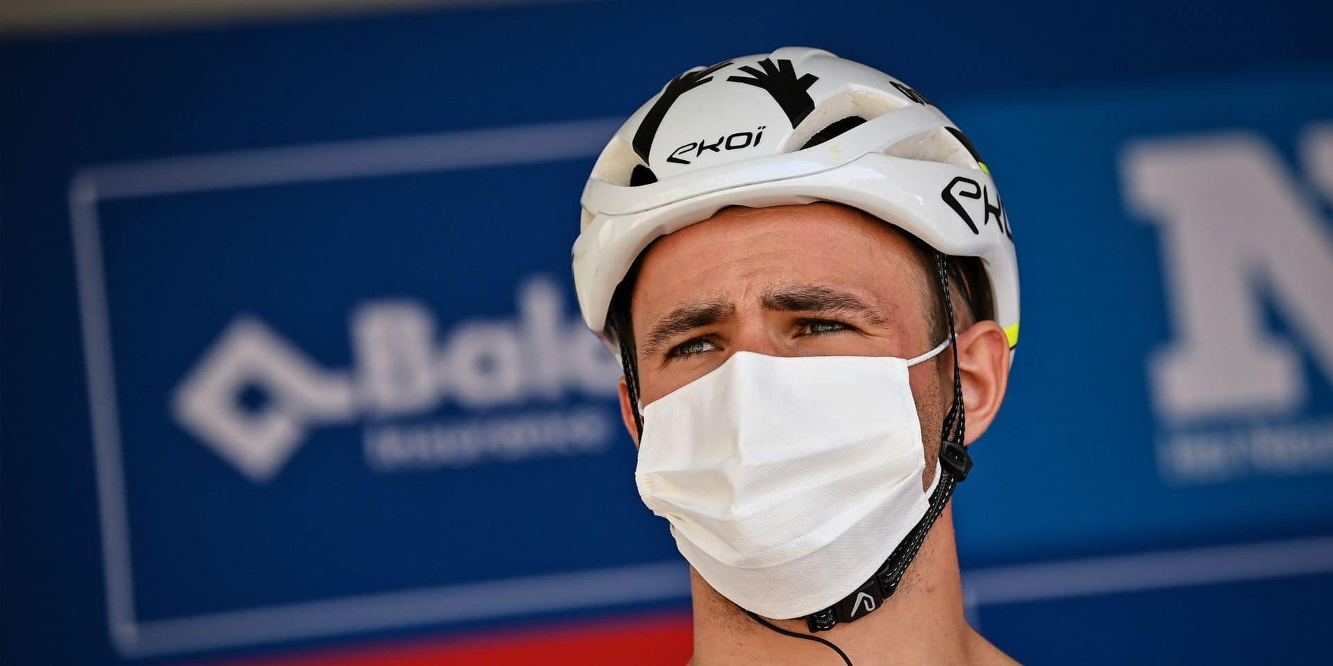Baloise Belgium Tour: Victor Campenaerts quitte la course après une première étape difficile