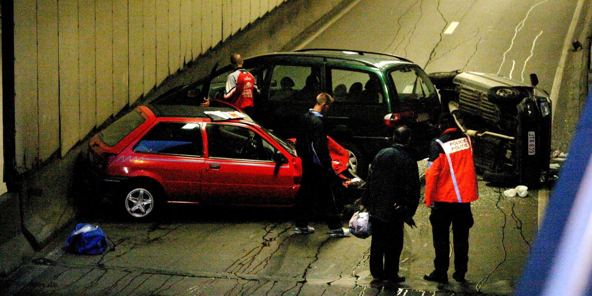 Le tunnel Rogier, le plus accidentogène de la capitale