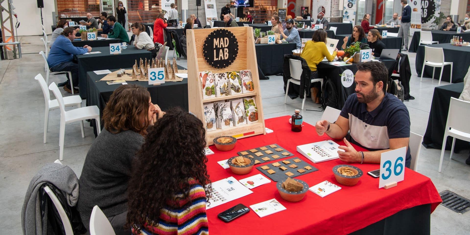 Speed dating good food ce lundi : les producteurs locaux ont eu 15 minutes pour convaincre les restaurateurs