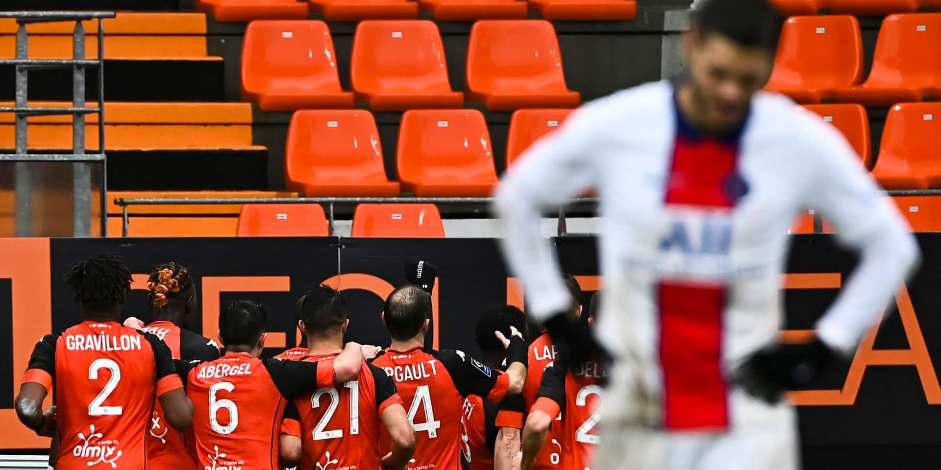 Première défaite du PSG de Pochettino, battu à Lorient, la lanterne rouge