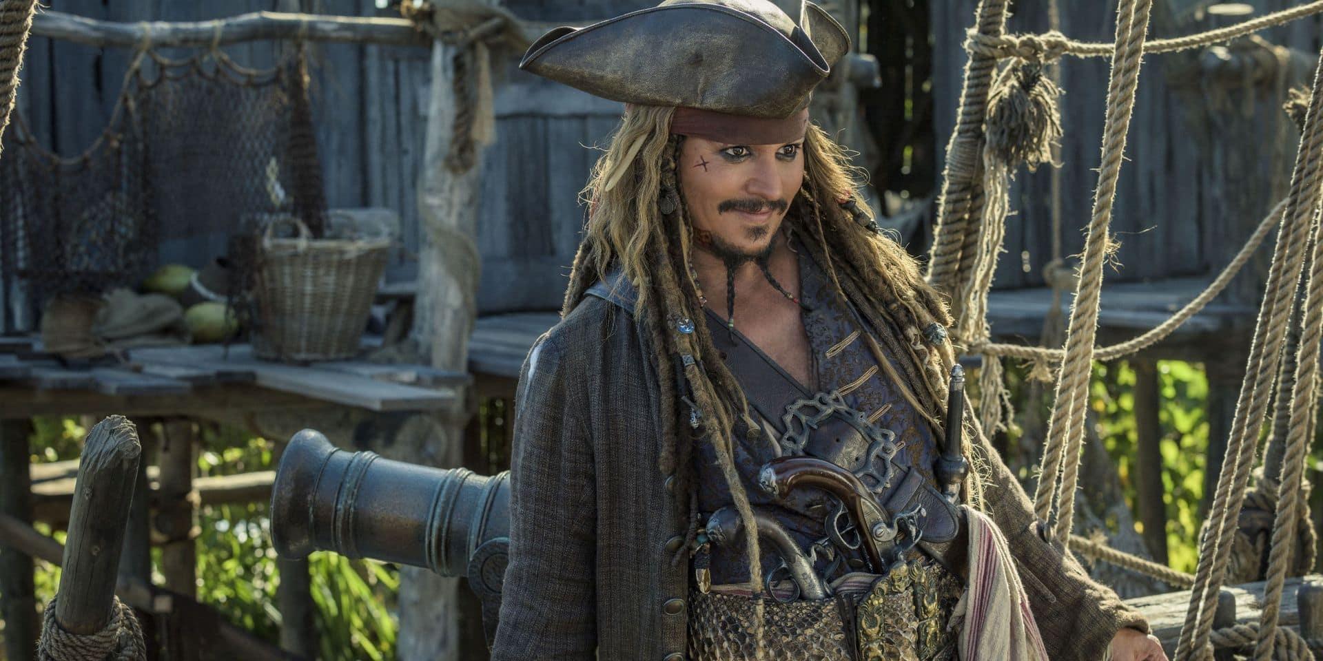 Johnny Depp pourrait rester Jack Sparrow