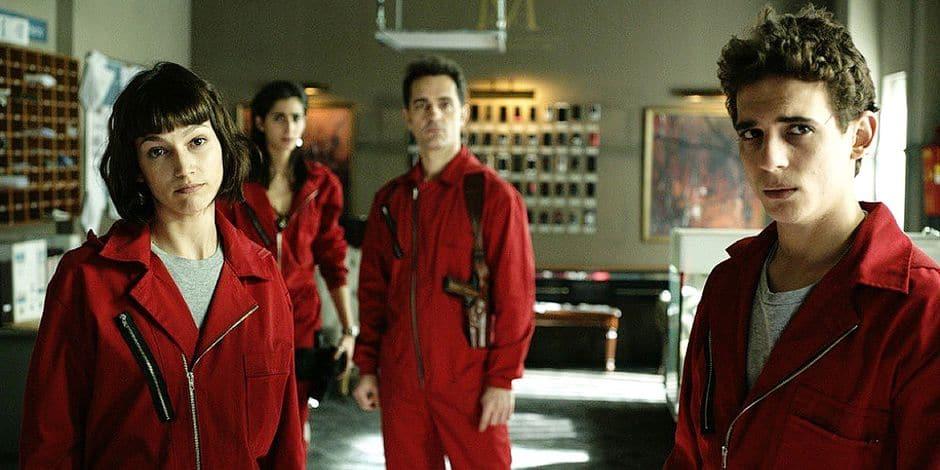 Netflix dévoile la date de sortie de la nouvelle saison de la Casa de Papel !