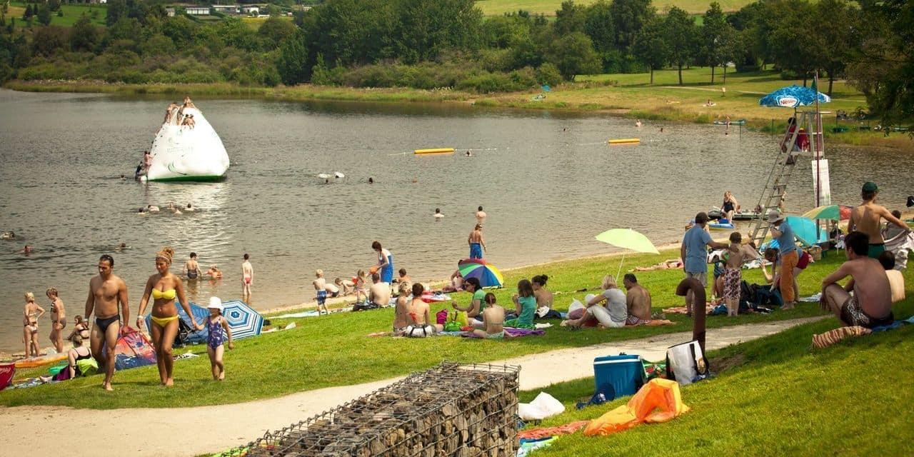 Les lacs de Bütgenbach et de Robertville complets!