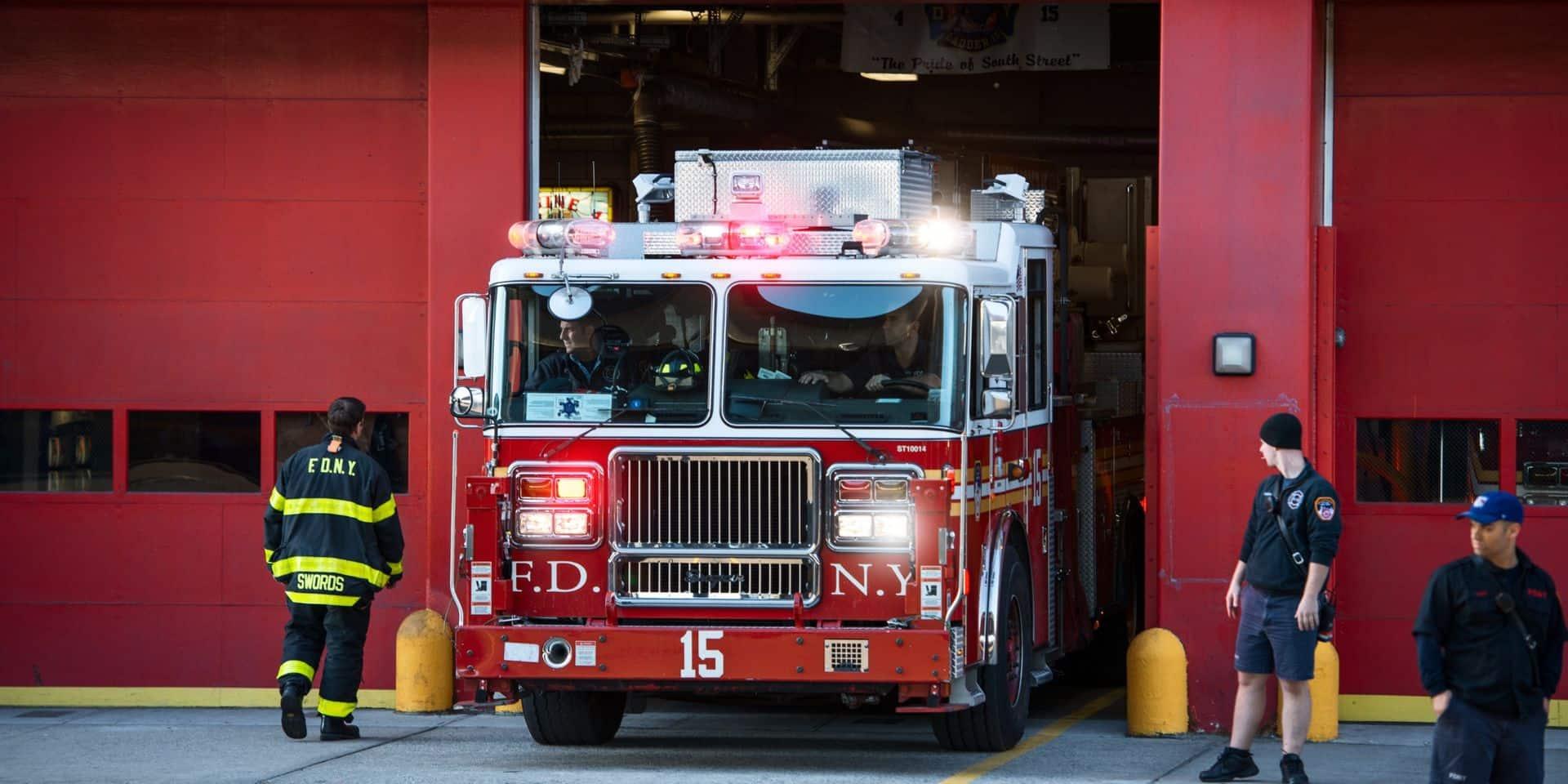 Incendie d'un immeuble à Harlem: 21 pompiers new-yorkais blessés