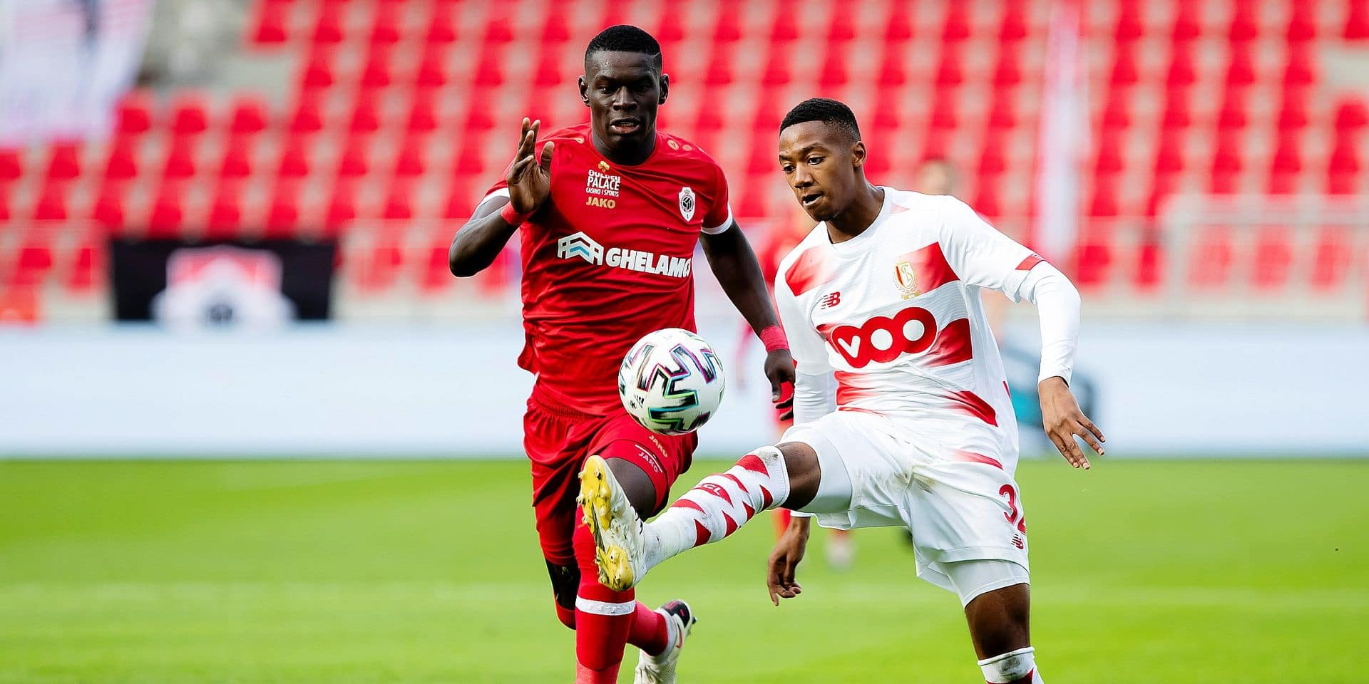 """Balikwisha se confie : """"Le Standard a voulu me forcer à aller à Bruges"""""""