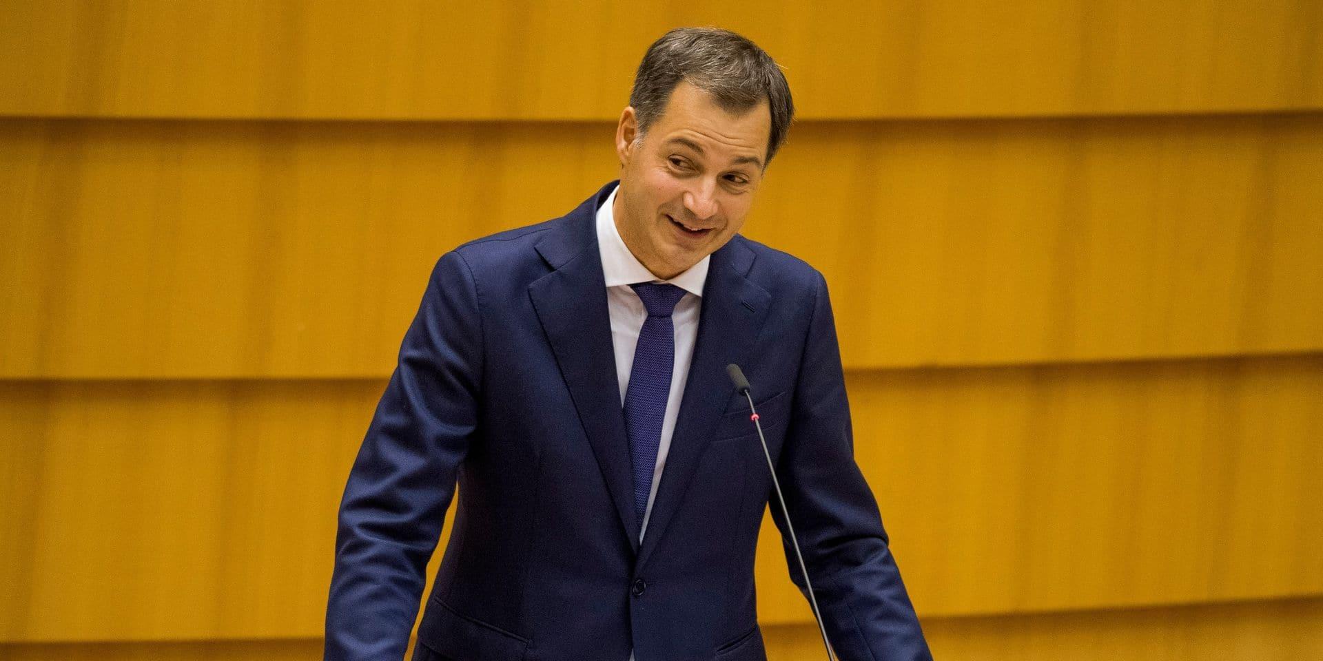 Confinement, lutte contre la fraude fiscale, confiance envers les politiques: le contenu de la déclaration gouvernementale d'Alexander De Croo