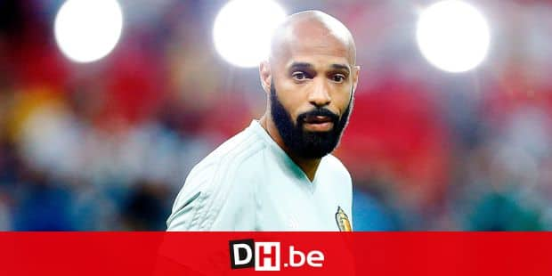 (FILES) In this file photo taken on July 6, 2018 Belgium's assistant coach Thierry Henry looks on before the Russia 2018 World Cup quarter-final football match between Brazil and Belgium at the Kazan Arena in Kazan. - Thierry Henry finally refused to be appointed as new coach of the Girondins de Bordeaux, according to sports TV channel Sky Sports on August 28, 2018. (Photo by BENJAMIN CREMEL / AFP) / RESTRICTED TO EDITORIAL USE - NO MOBILE PUSH ALERTS/DOWNLOADS