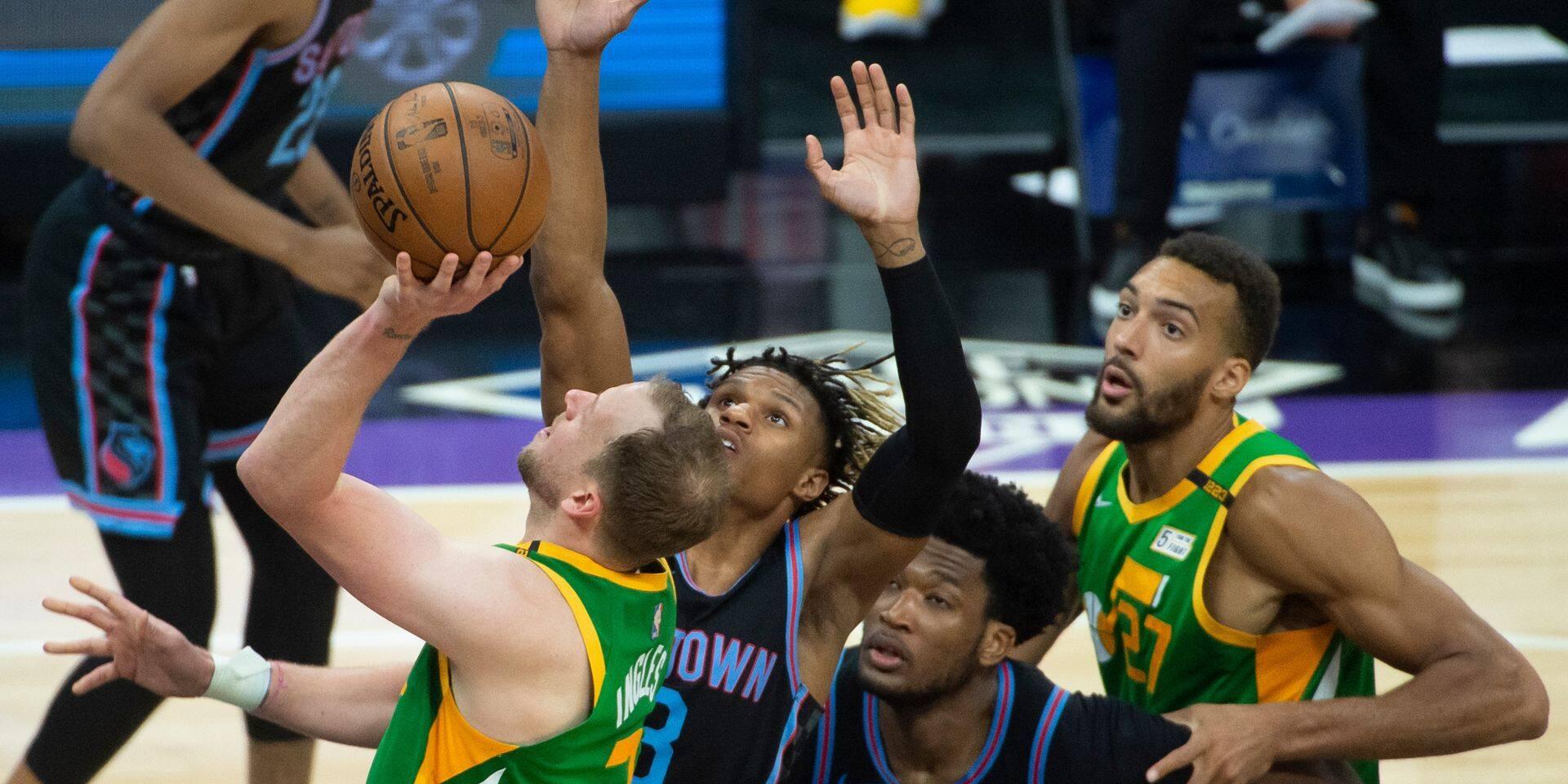 NBA: Utah finit en tête, les Lakers passeront par les barrages