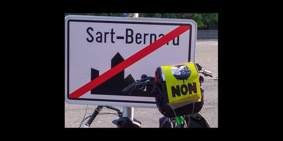 """Usine à tarmac à Sart-Bernard : """"Un avis consternant du Pôle Environnement de la Région Wallonne"""""""