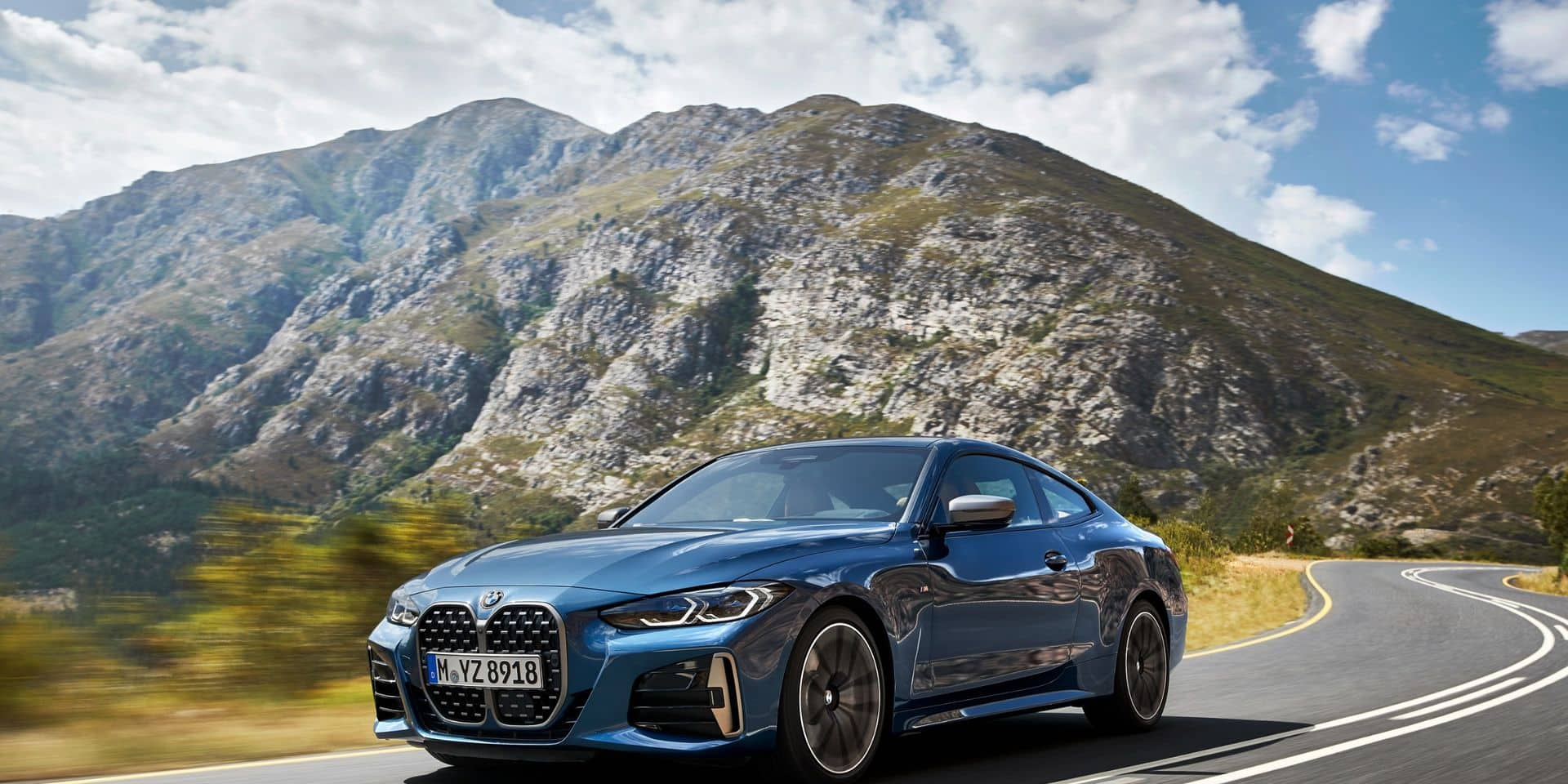 BMW Série 4 : une forte tête !
