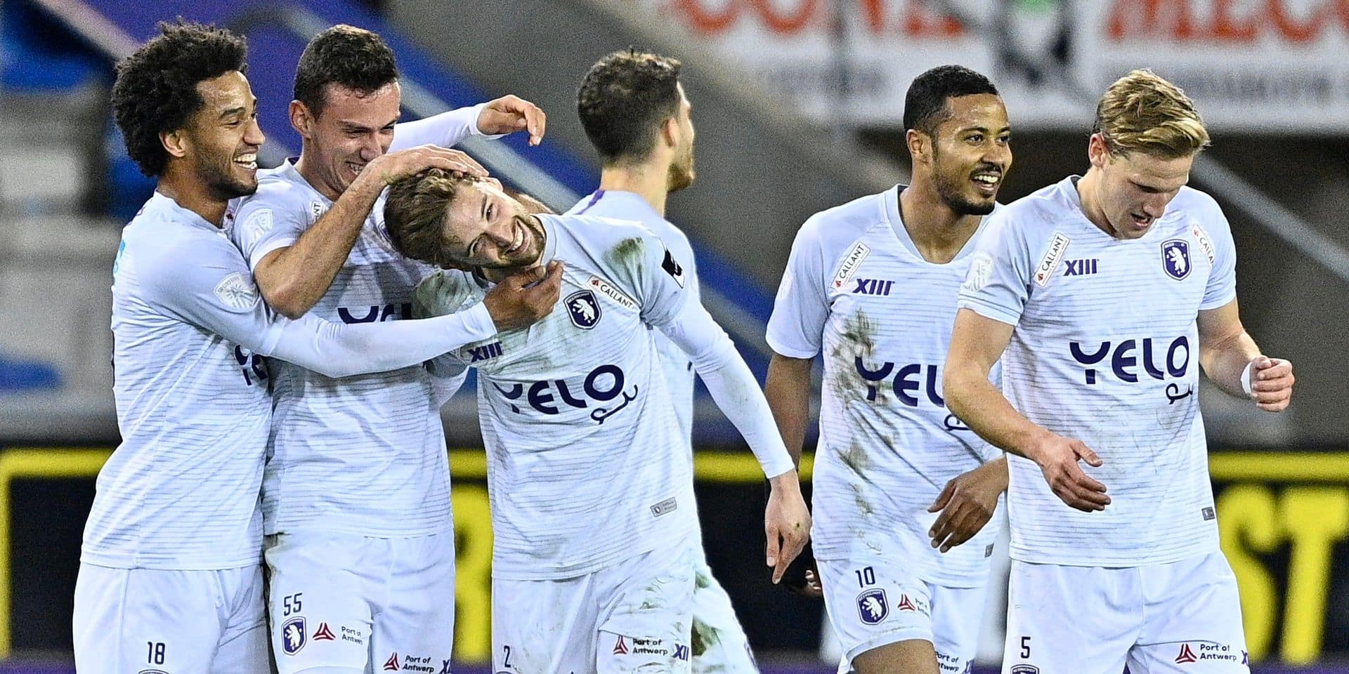 Un but sensationnel et une célébration originale: le défenseur du Beerschot Van den Bergh a régalé face à Genk (VIDEO)