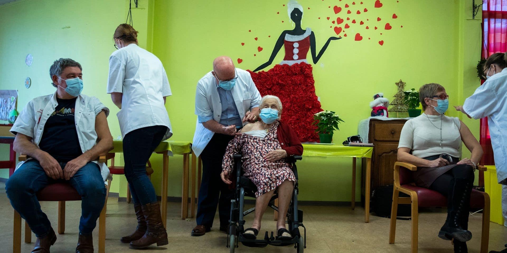 Mons: Troisième dose en vue dans les maisons de repos du CHUPMB