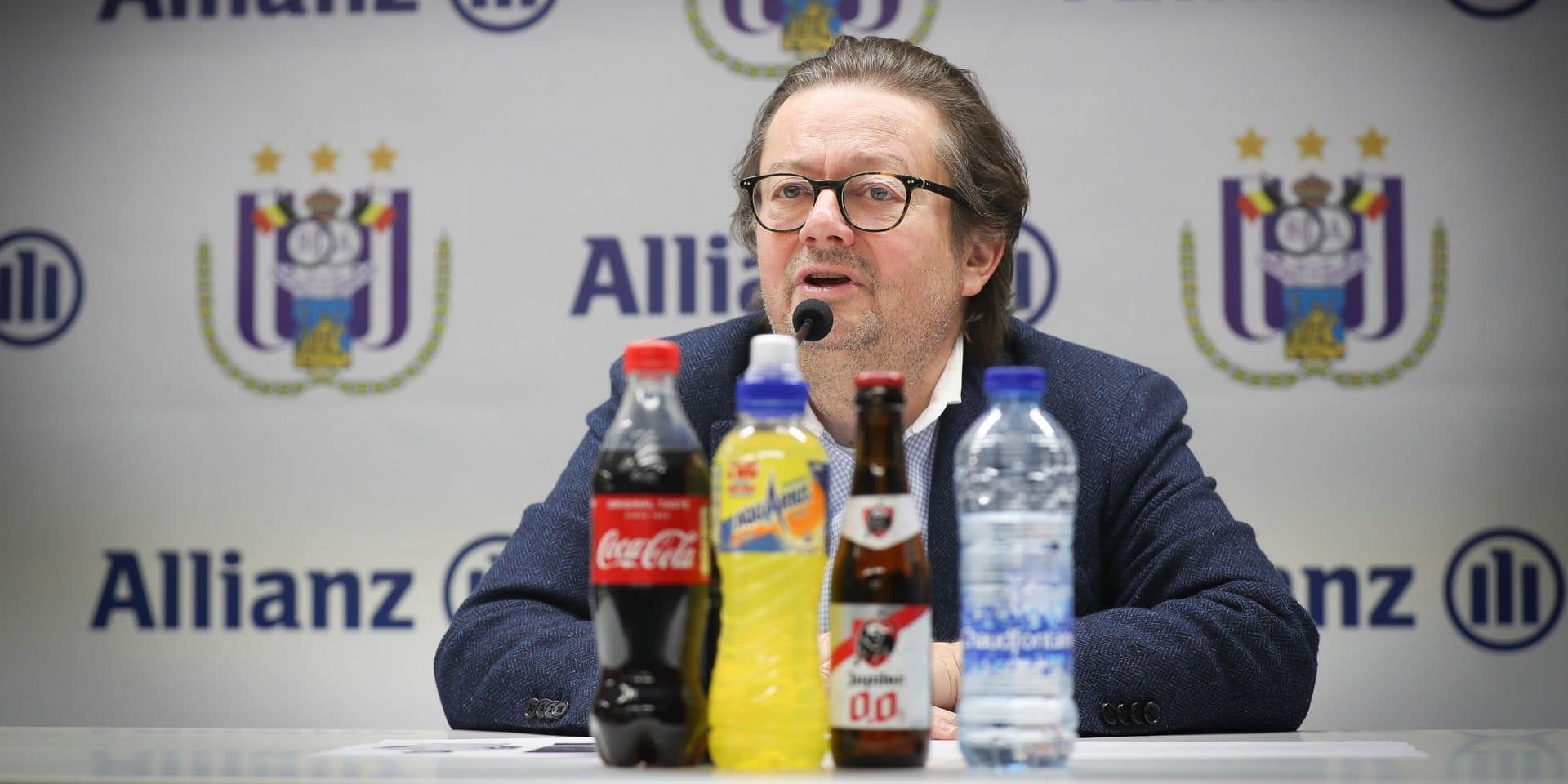 Allianz stoppe son sponsoring du Sporting d'Anderlecht