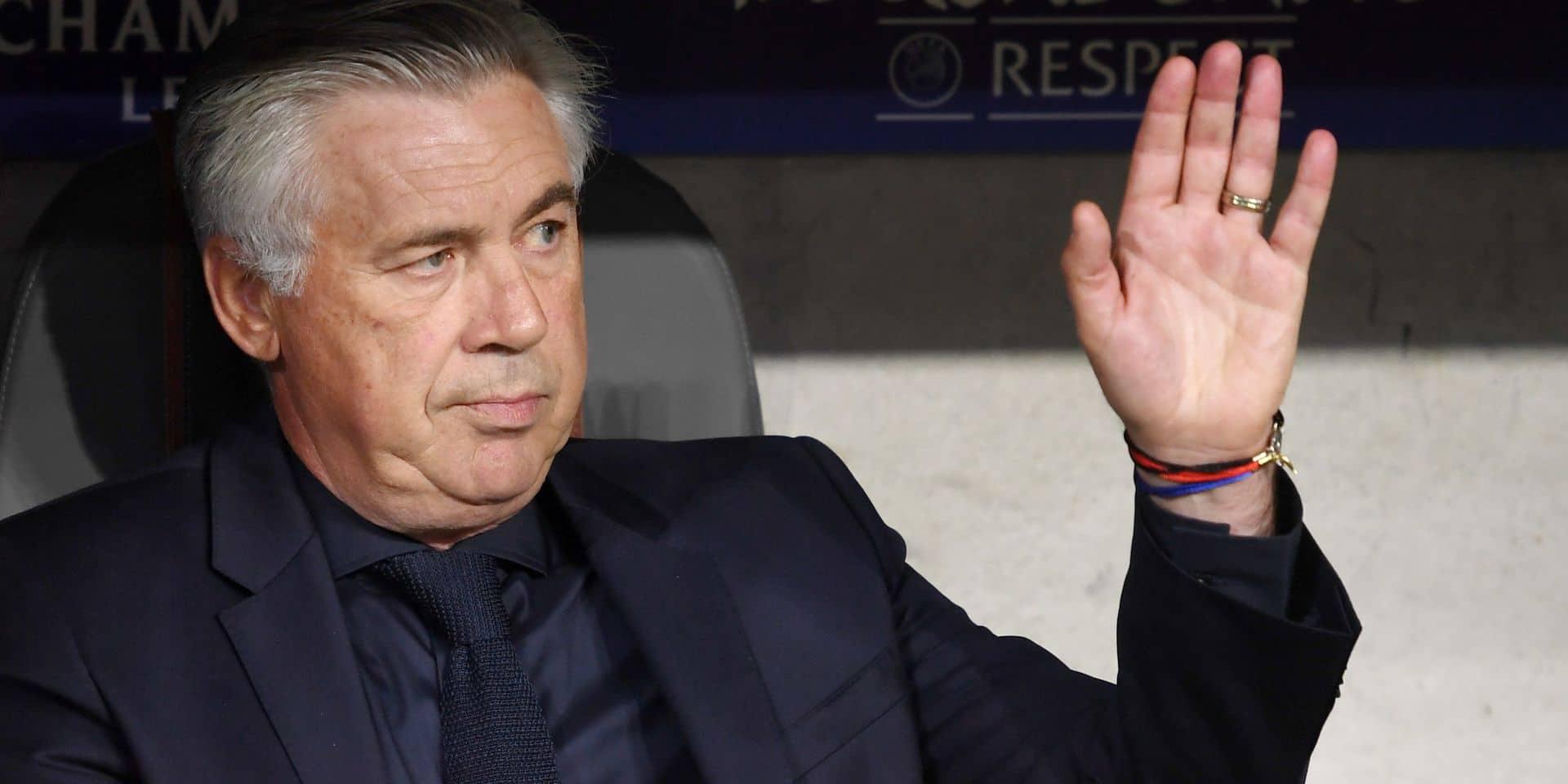 Carlo Ancelotti va rejoindre Naples