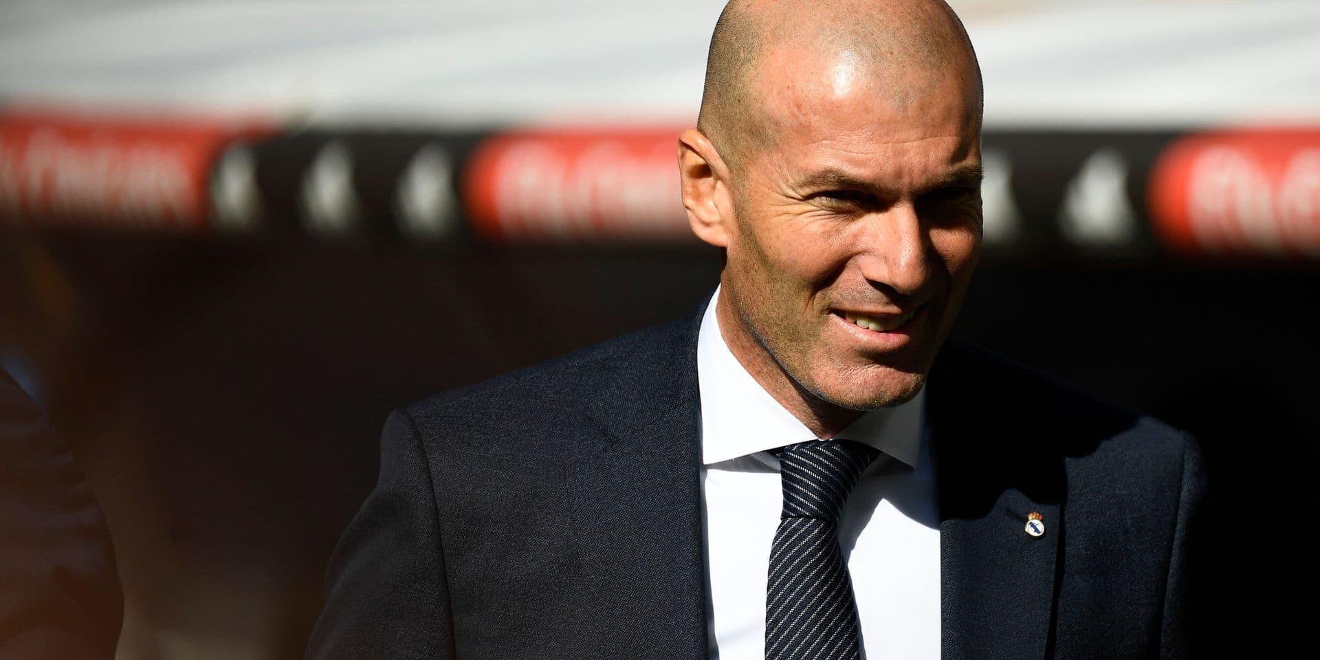 Zidane encense à nouveau Eden Hazard