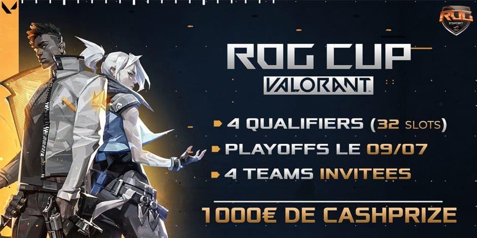 "Sammy ""iDex"" Van de Weghe remporte la ROG Cup #2 avec l'équipe VALORANDO"