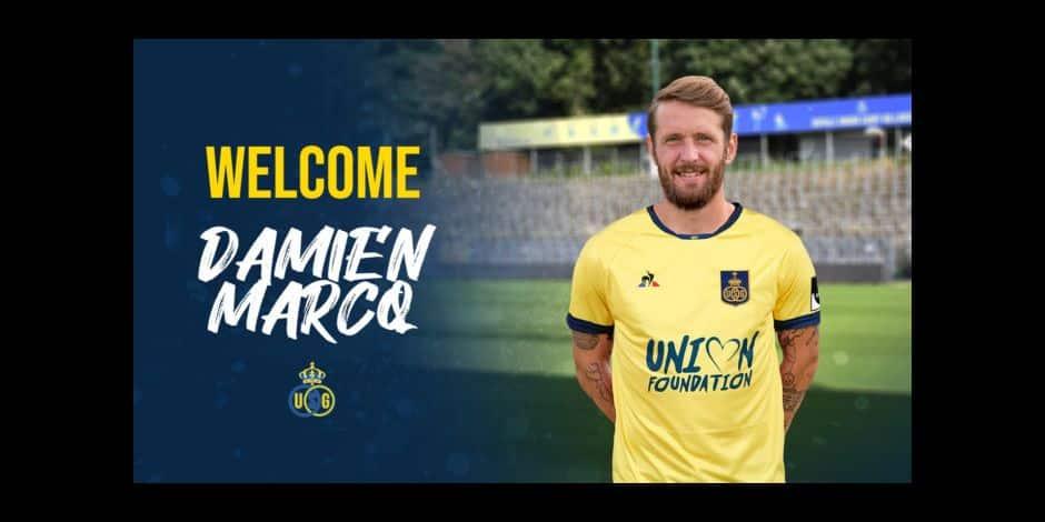 Comme pressenti, Damien Marcq signe bien à l'Union Saint-Gilloise