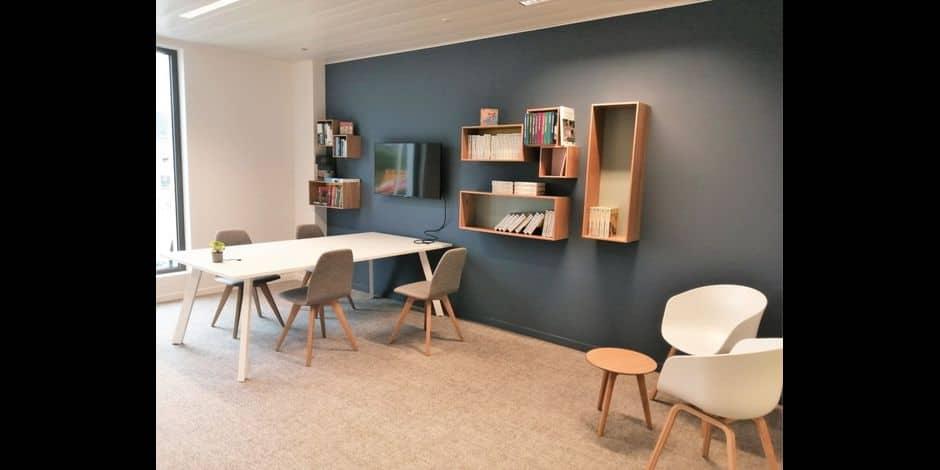 Nouveaux bureaux à louer sur le site Aquilis