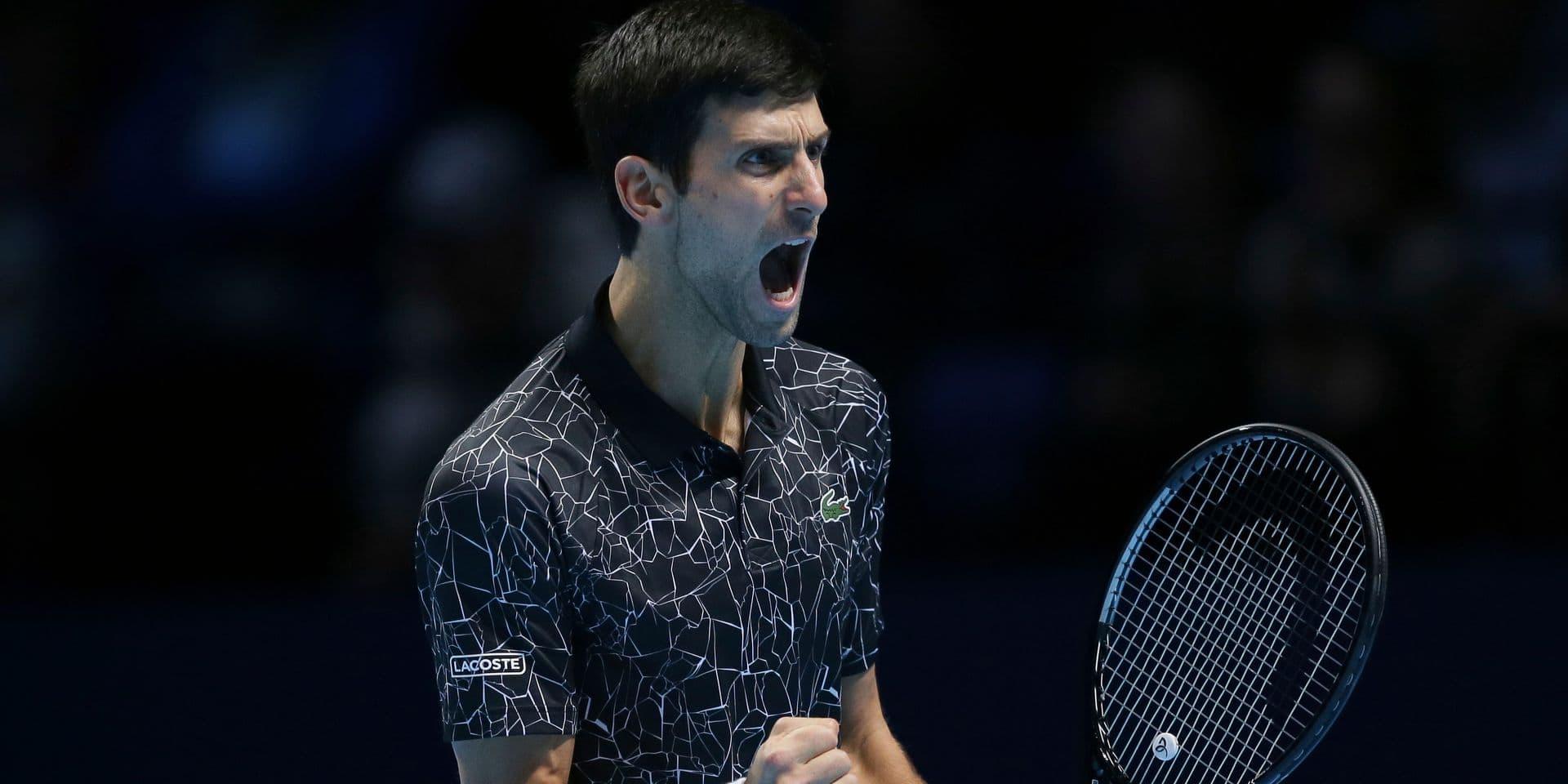 ATP Masters: Le N.1 mondial Novak Djokovic réussit son entrée en lice contre John Isner