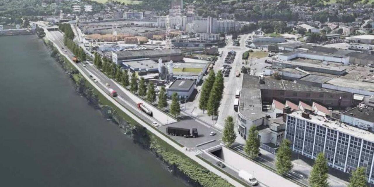 Droixhe : un boulevard urbain… trop autoroutier ?