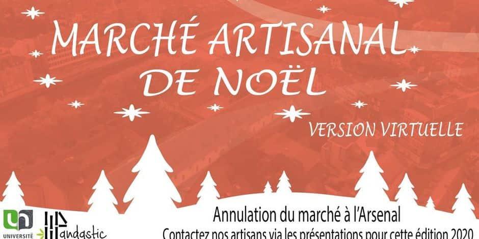Un marché de Noël artisanal et durable à l'UNamur