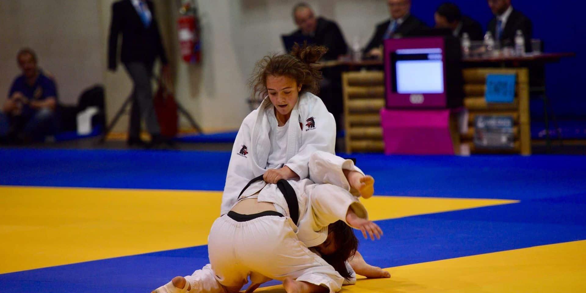 Chloé Albert : Militaire et judokate médaillée au Championnat de Belgique