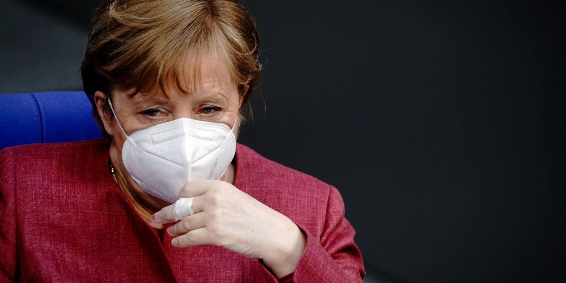 Angela Merkel a reçu une première dose de vaccin AstraZeneca