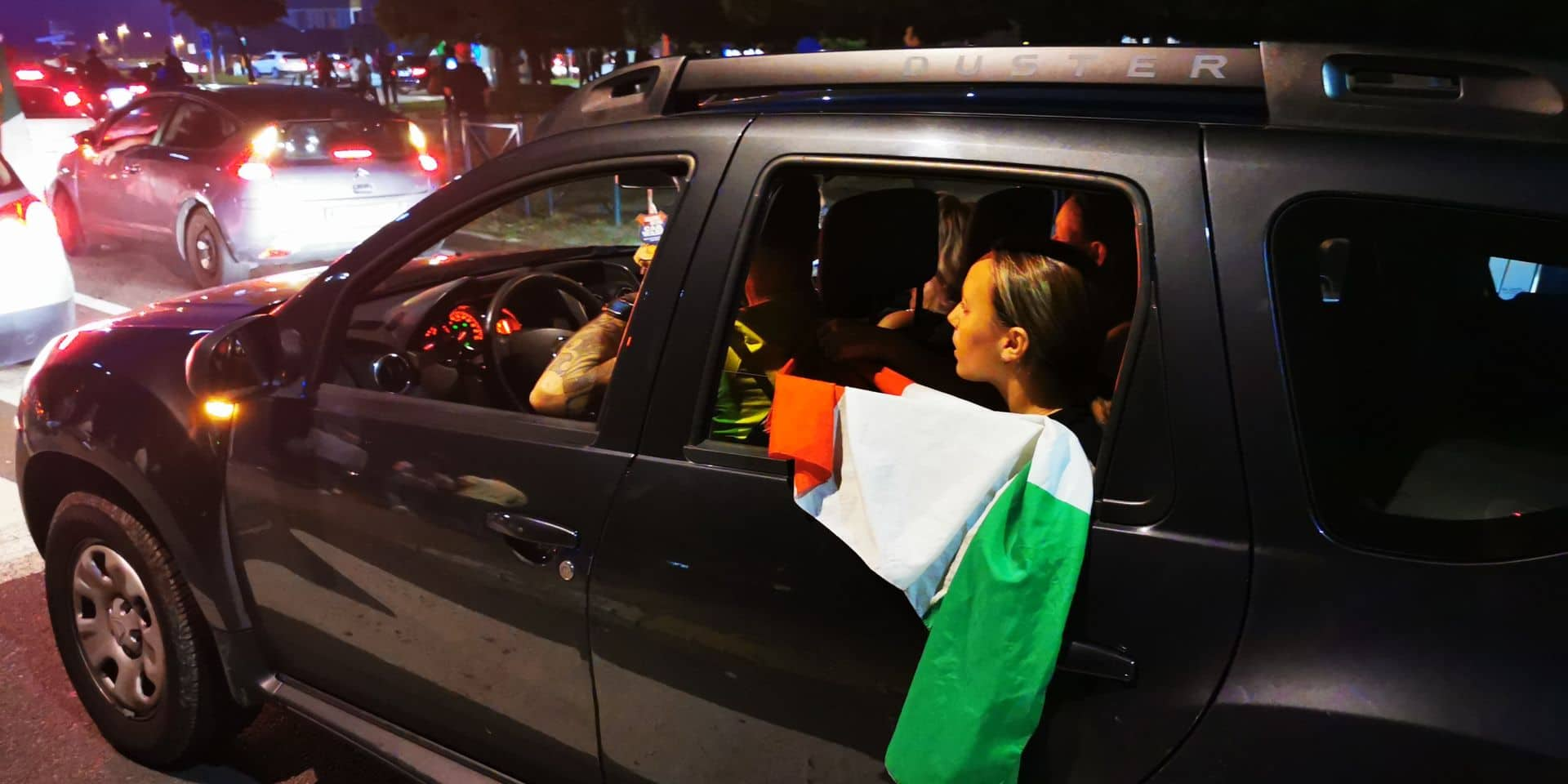 Euro: la fête italienne partout dans la région de Charleroi après le passage en finale de l'Italie