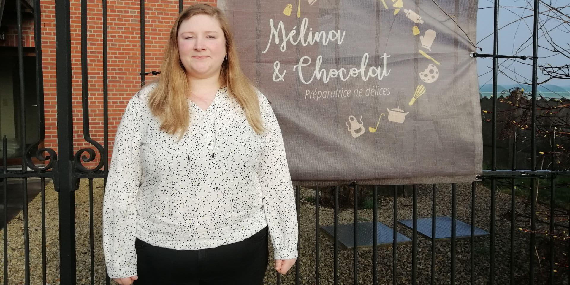 Mélina Clément, une vraie passionnée de pâtisserie.